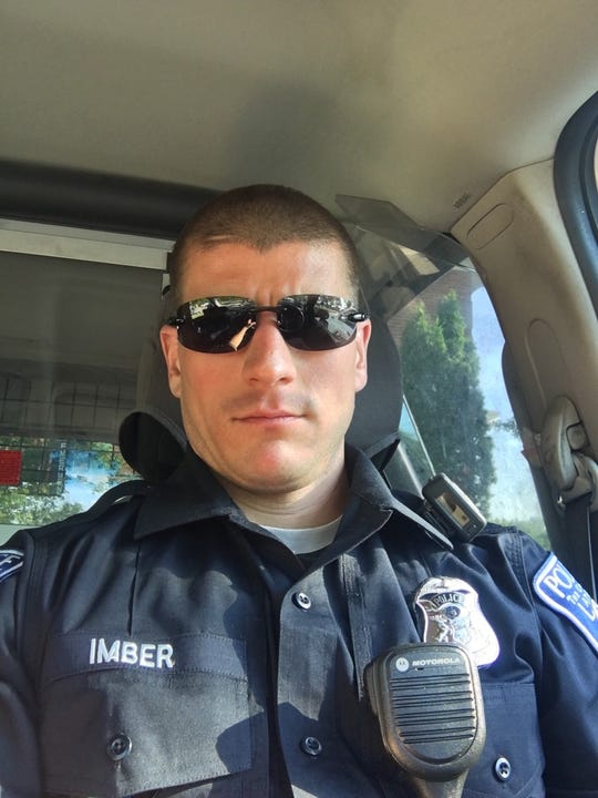 Howell resident and Lathrup Village police officer Dave Imber is fighting grade four brain cancer.