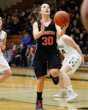 Brighton's Lauren Brown had 10 points in a victory at Howell.