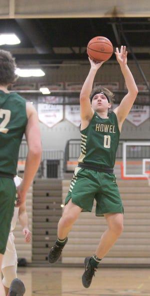 Howell's Josh Palo scored 20 points in a 50-37 victory over Novi.