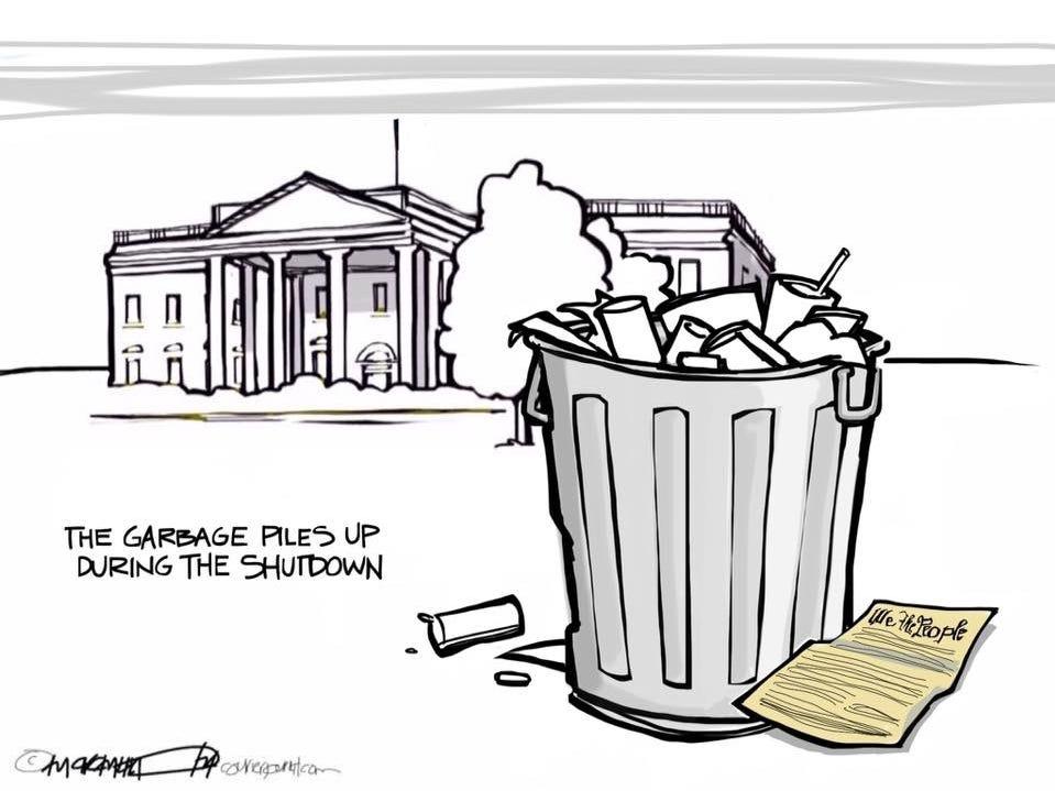 White House Garbage