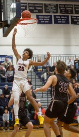 See highlights from the Division 1 No. 4-ranked Chiefs' CAAC Blue win over East Lansing on Jan. 8, 2019.