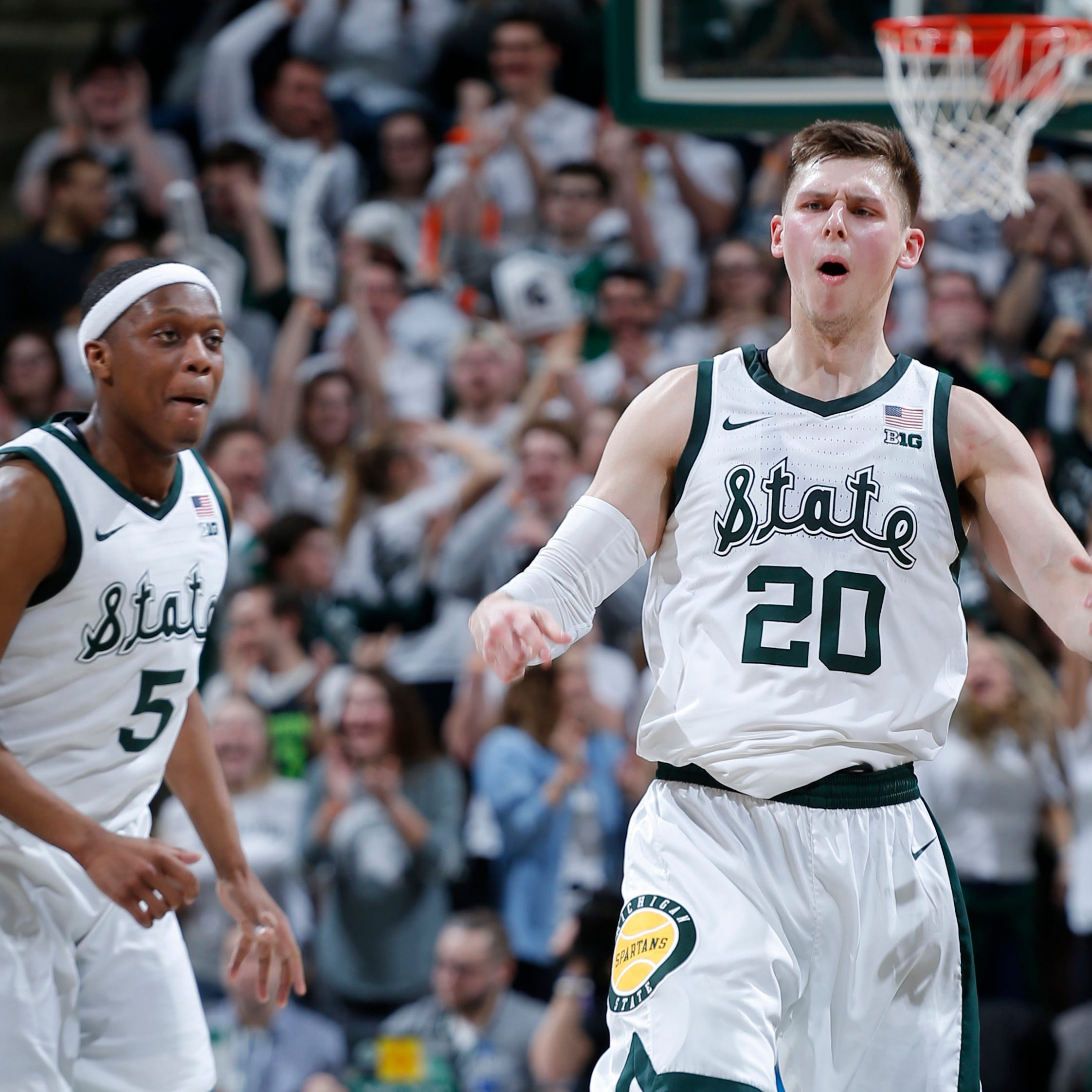 Couch: MSU's Cassius Winston, Matt McQuaid and the commitment to winning above self