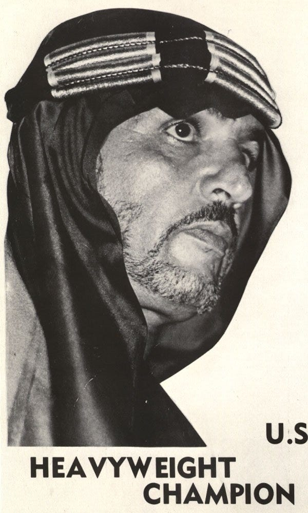 Edward Farhat, born in Lansing, was known as The Original Sheik during a pro wrestling career that spanned nearly 50 years.