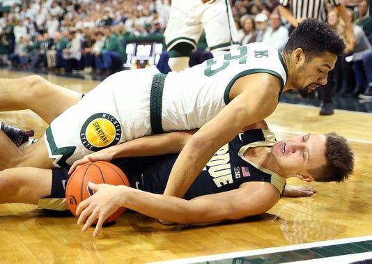 Ncaa Basketball Purdue At Michigan State