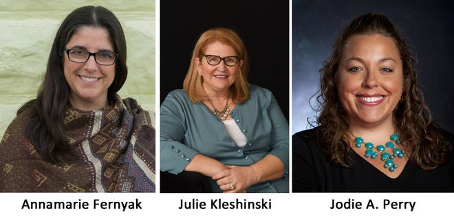 Three local women have been named Athena Award finalists: Annamarie Fernyak, Julie Kleshinski and Jodie A. Perry.