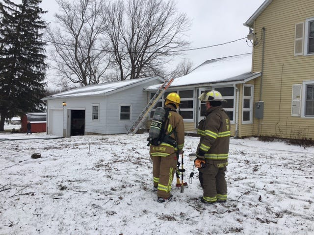 A fire at a house at 2054 Marion Avenue Wednesday suffered minimal damage, according to Springfield Township Fire Department.