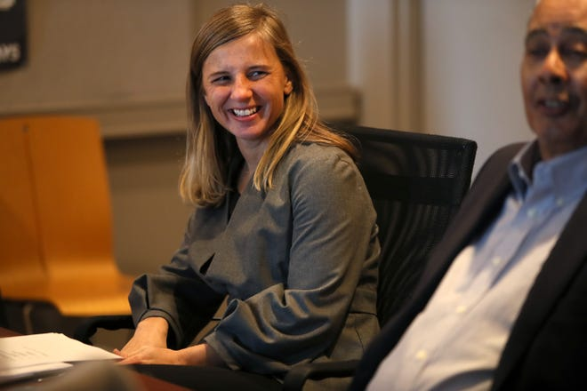 Former Downtown Memphis Commission President and CEO Jennifer Oswalt left the organization for a position with the Haslam Family Foundation.