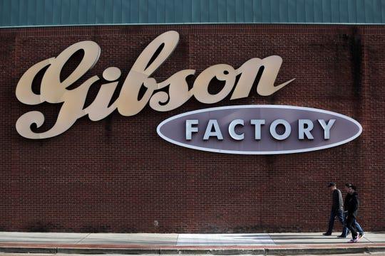 Gibson Factory downtown Memphis Tuesday, Jan. 8, 2019.