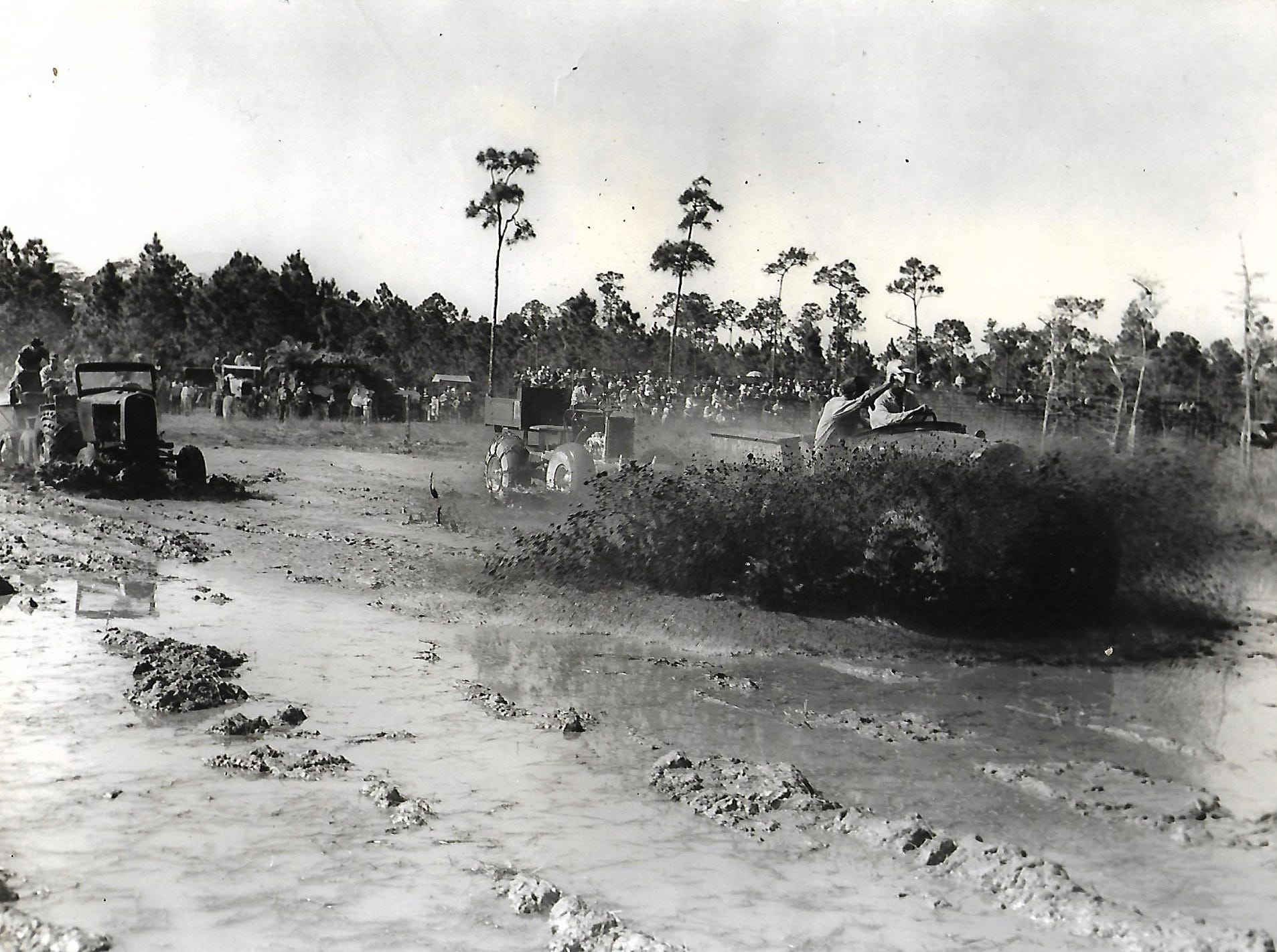 Robert Walker Sr. wins the Swamp Buggy Races in 1956. Walker, born on Marco Island in 1921, celebrated his 98th birthday on Sunday, Jan. 6 at his home in Cross City, Florida.