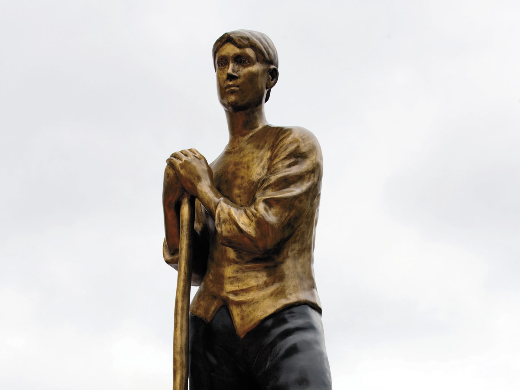 """""""Female Mine Worker"""" is among the works at atop the Milwaukee School of Engineering's Grohmann Museum."""