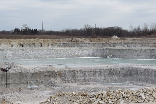 The 300-acre quarry is now one of the six parcels owned by Lannon Stone, Inc.