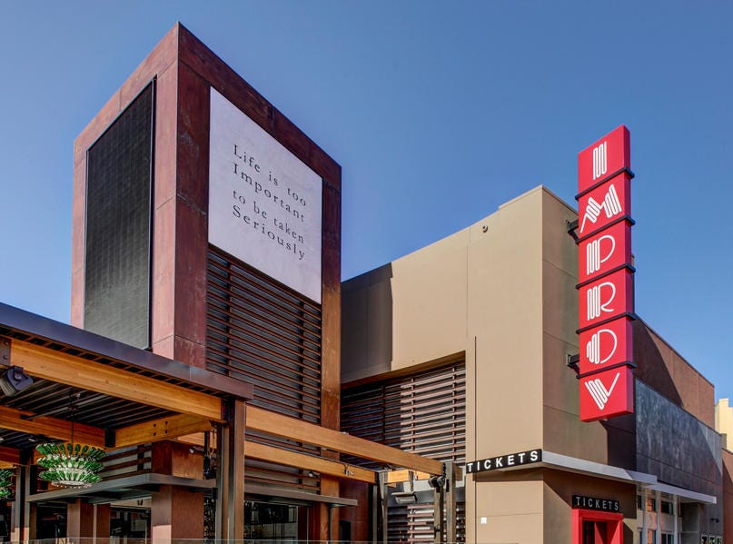 Improv, a chain of comedy venues, is coming to The Corrners development in the Town of Brookfield. Improv's locations include this club in Irvine, Calif.