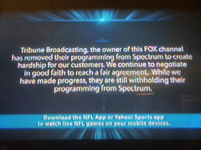 Stalemate over fees could keep WITI-TV off Spectrum cable through