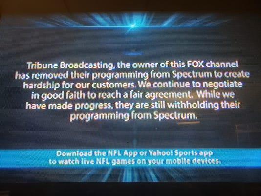 Charter Spectrum Tribune Broadcasting