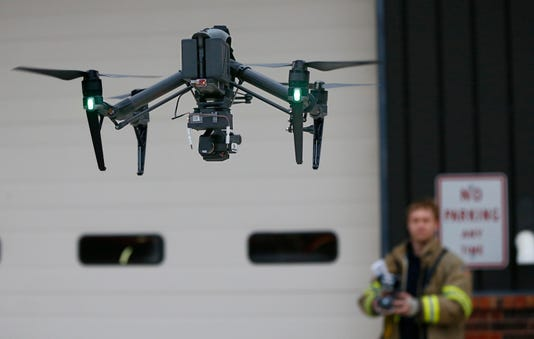 Merton Adds Drone To Firefighting Tools