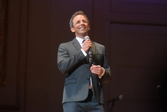 Comedian Seth Meyers will perform Saturday night at the Pabst Theater in Milwaukee.