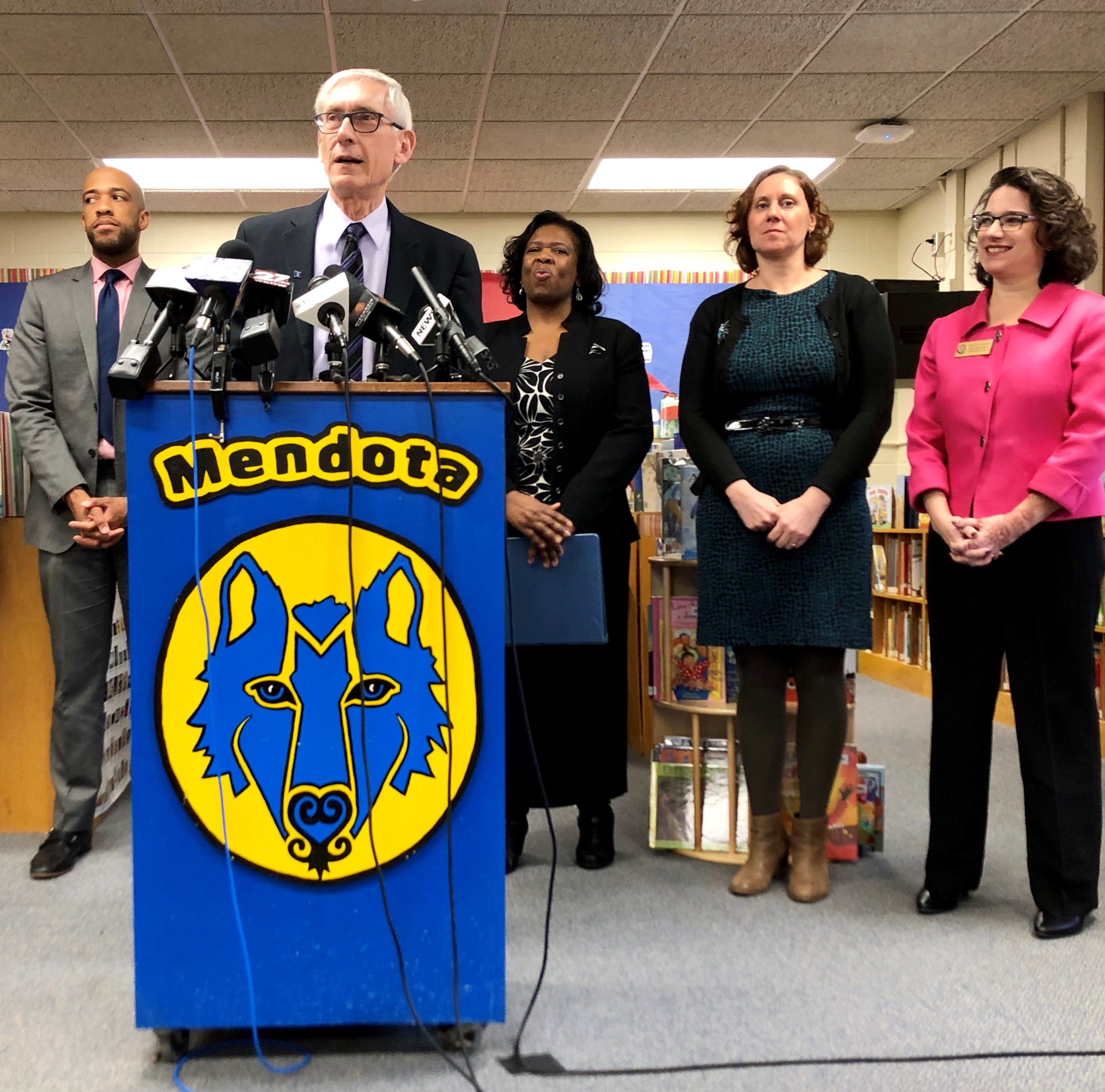 Gov. Tony Evers won't seek to phase out school vouchers in first state budget