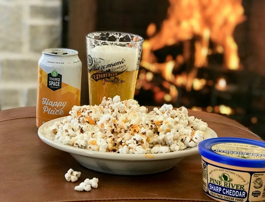 Let it snow this winter while enjoying home-popped corn and a local brew in front of a cozy fire.