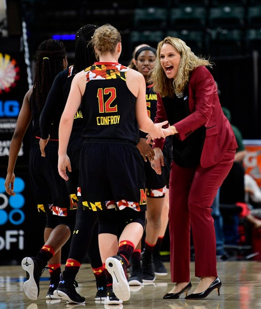 Ncaa Womens Basketball Big Ten Conference Tournament Ohio State Vs Maryland
