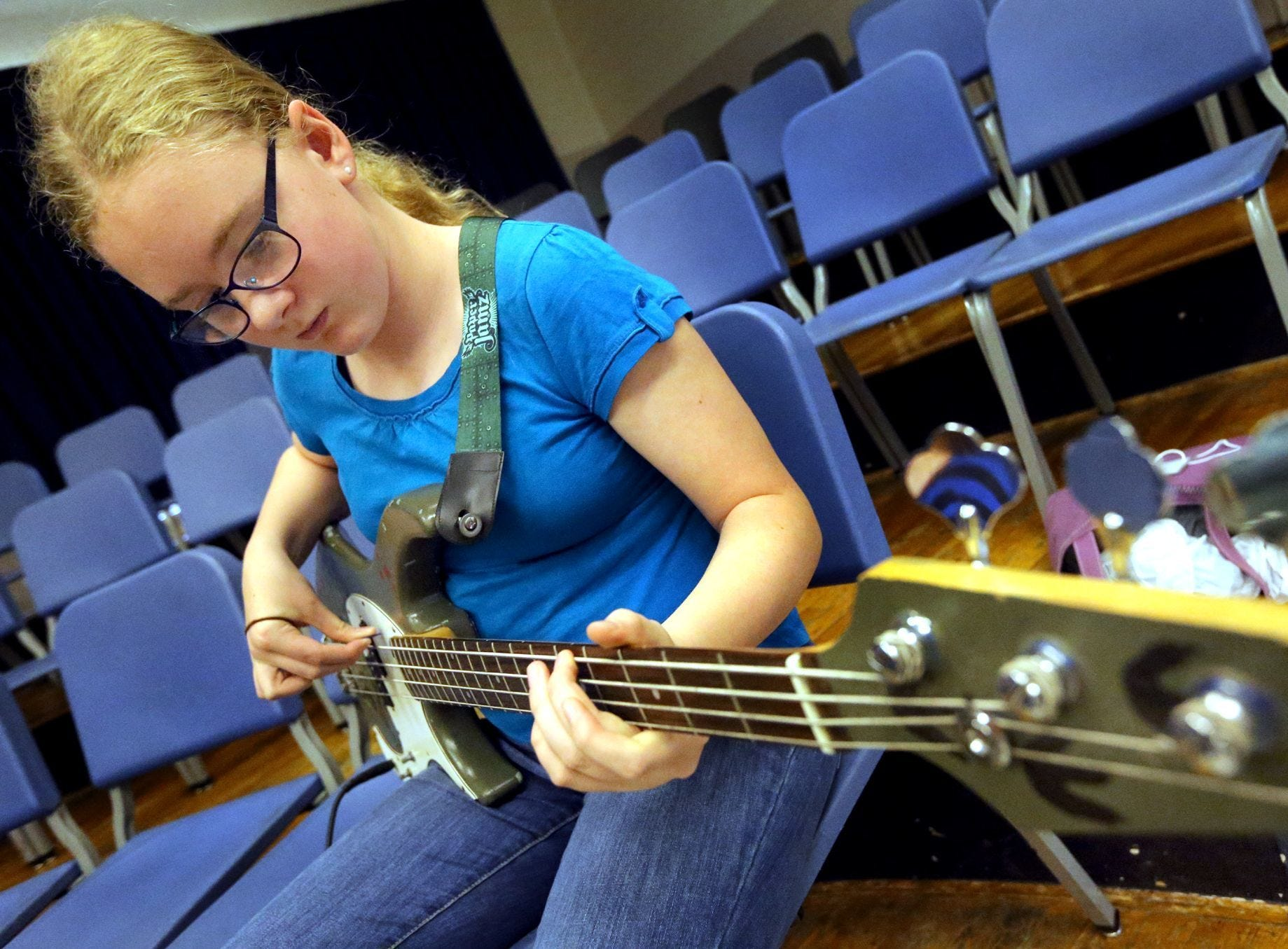 MTSU has hosted the Southern Girls Rock n Roll Camp for several years.