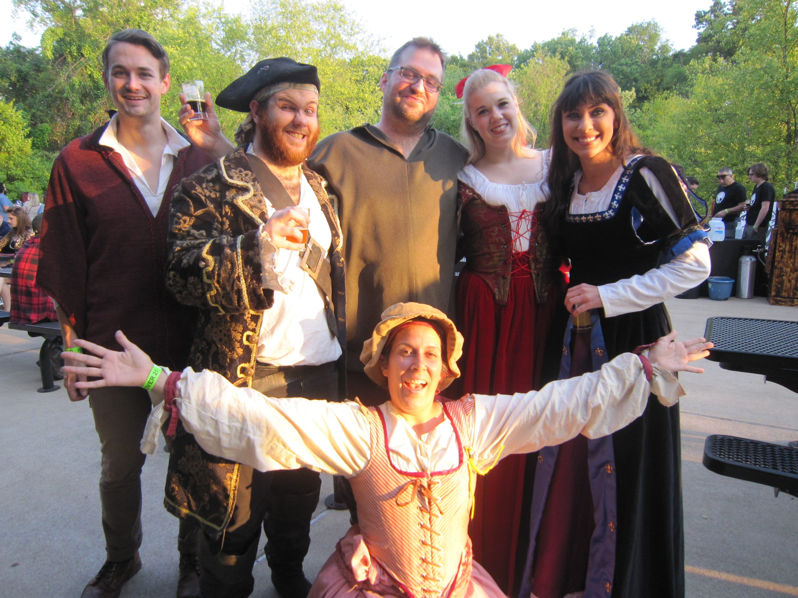 Murfreesboro Little Theatre often participates in the Discovery Center at Murfree Springs Shakesbeer event.