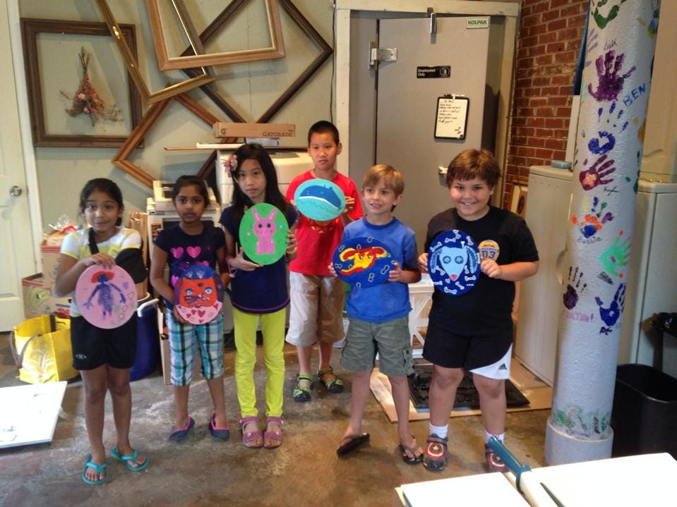 Carpe Artista, a nonprofit arts organization, offers camps that expose children to the arts.