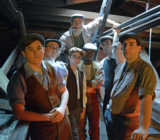 "See ""Newsies"" on stage at Center for the Arts."