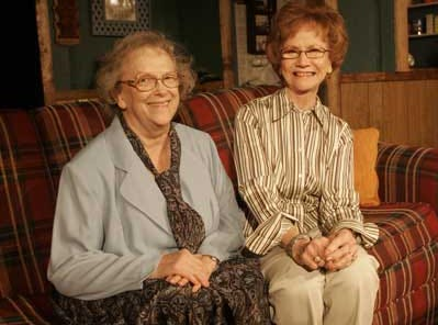 Nancy Clymer, left, and Nelda Pope starred were both avid theater participants for decades through Murfreesboro Little Theatre. Pope also sang through various organizations.