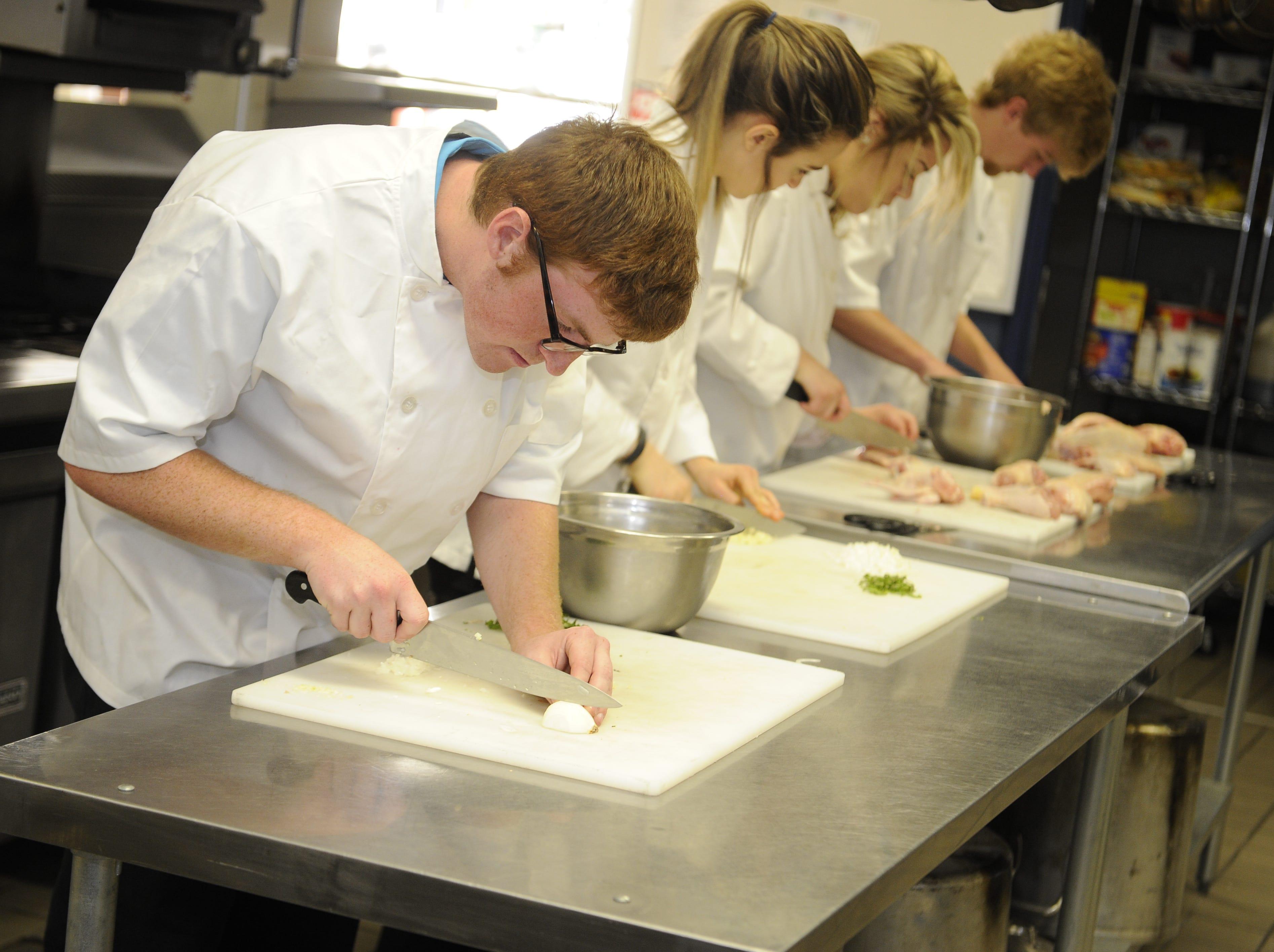 Blackman High School offers culinary arts studies.