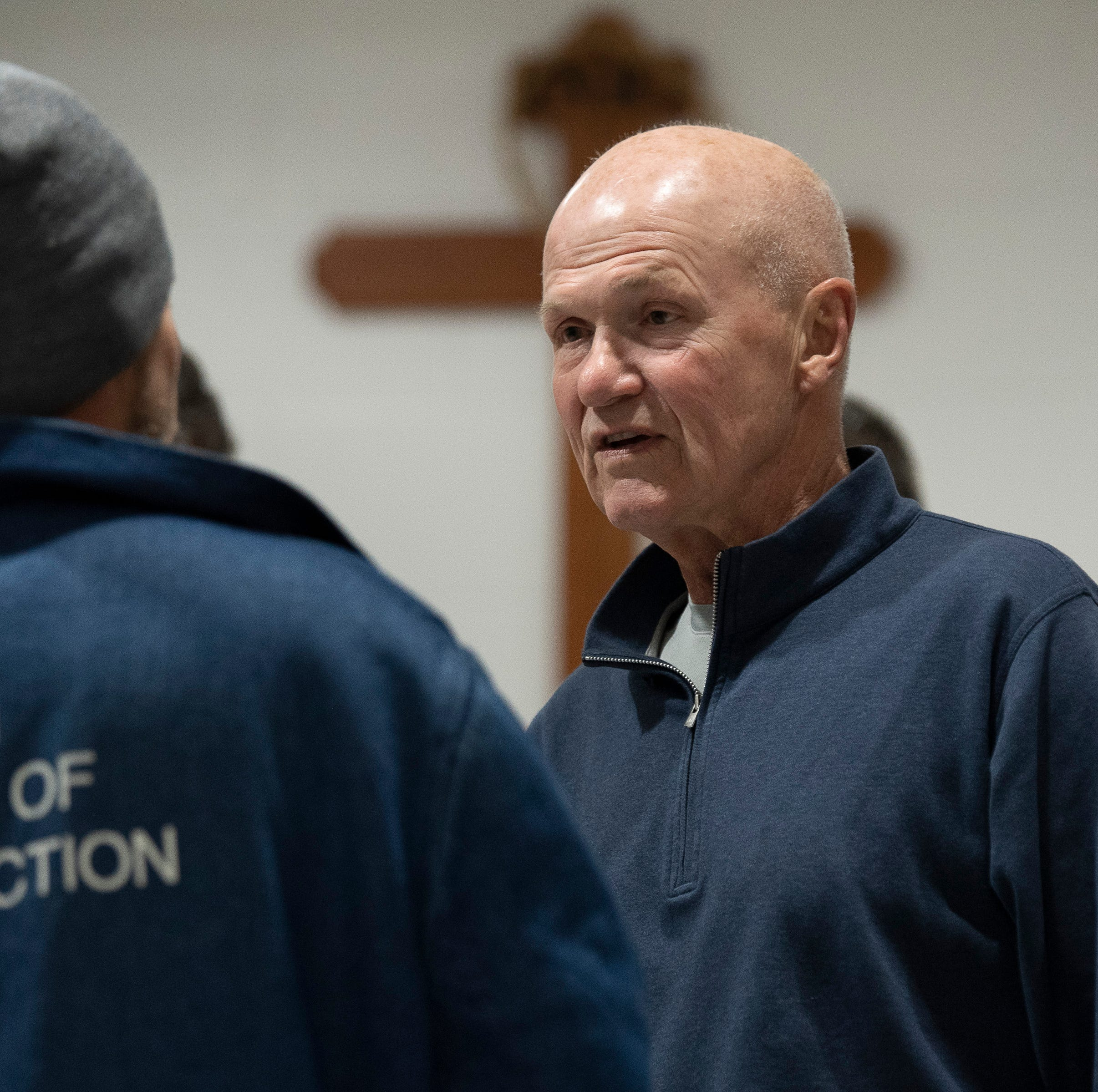 Rudy Kalis strengthens his own faith through prayers with prisoners