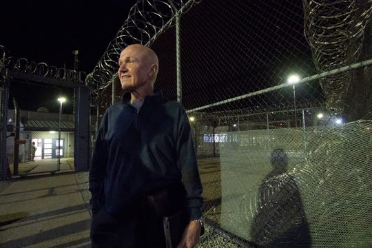 """Rudy Kalis, a longtime sports and news broadcaster on WSMV, now volunteers with the Men of Valor program that holds bible study groups at Riverbend Maximum Security Institution in Nashville. """"I want to be with people who are tougher and different, and see if I can relate to them,"""" he said."""