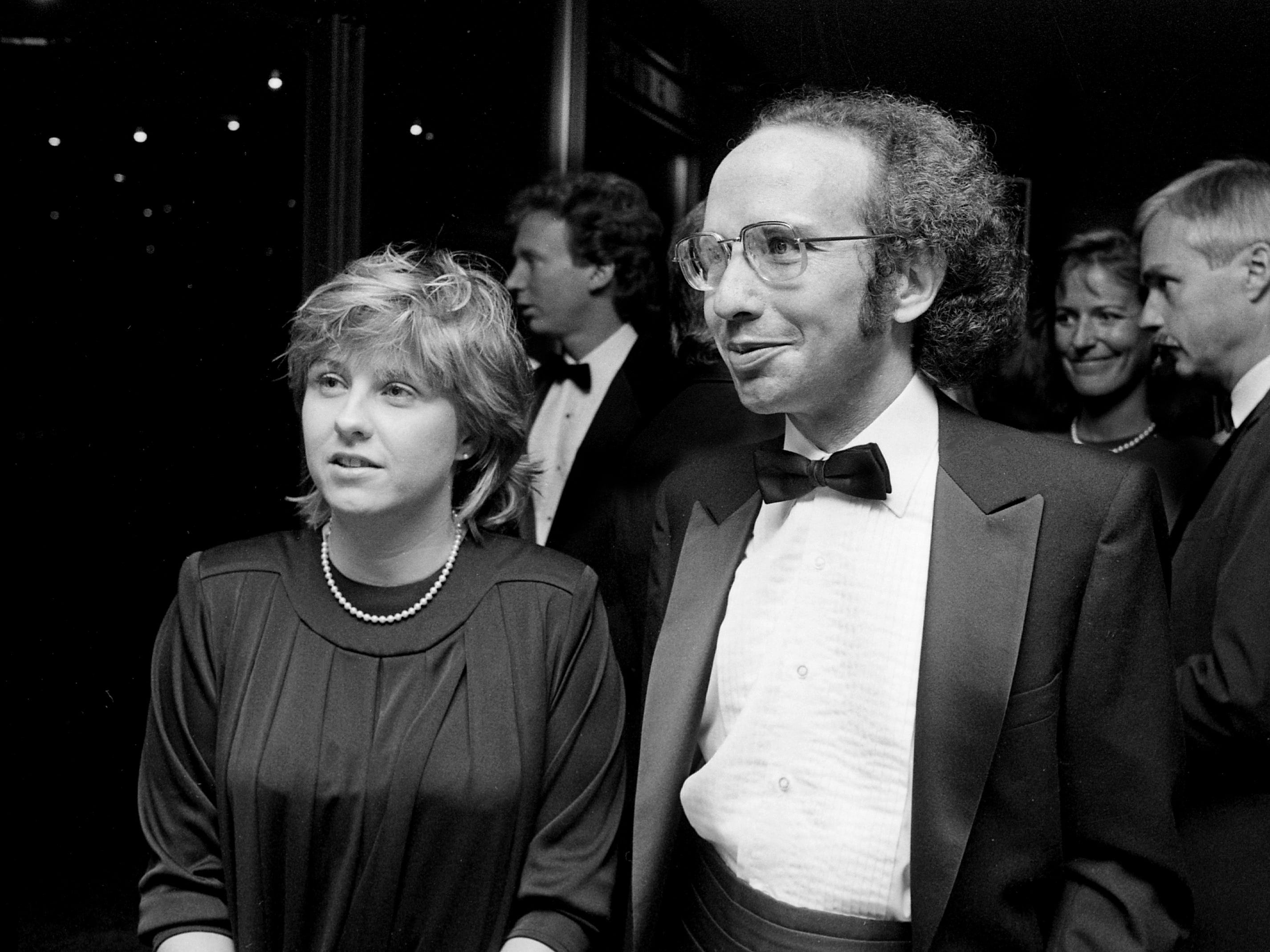 Tennessean news reporter Renee Elder and music reporter Tommy Goldsmith attend the annual BMI Awards banquet Oct. 15, 1985.