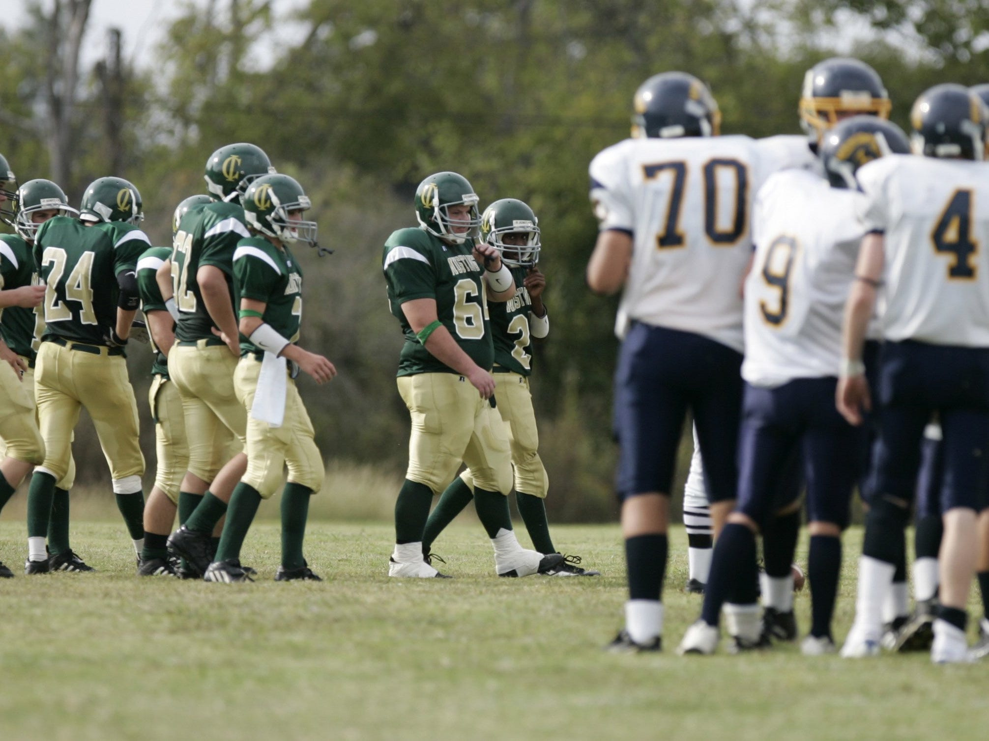 Currey Ingram Academy faces Christian Community in an 8-man football game at Currey Ingram in Brentwood in 2006.