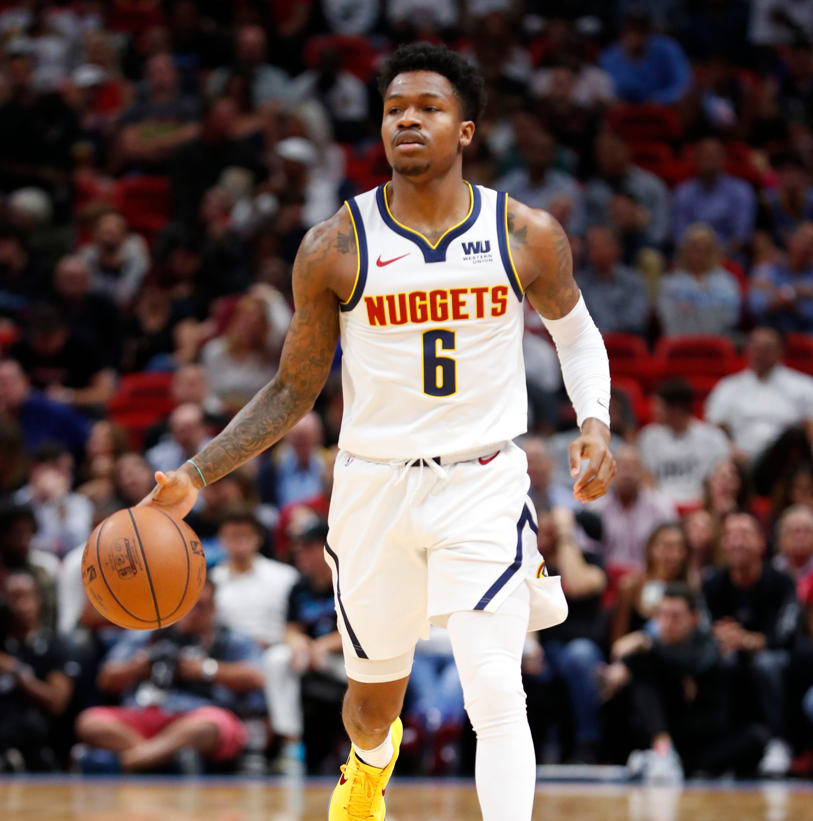 NBA: FGCU's Brandon Goodwin making the most of follow-up shot with Denver Nuggets