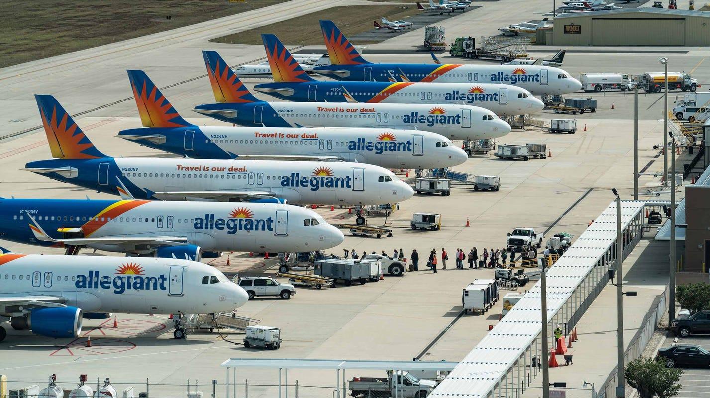 Allegiant Air Adds Nonstop Memphis To Punta Gorda Florida