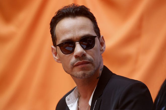 Legendary salsa singer Marc Anthony performs Jan. 27, 2019, in Orlando.