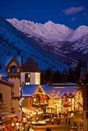 At look at the Vail Ski Resort in Colorado.