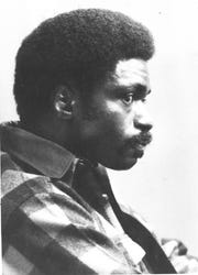 "May 20, 1981: Rubin ""Hurricane"" Carter and John Artis Superior Court hearing before Judge Bruno Leopizzi in Paterson N.J. Leopizzi is conducting a hearing to investigate the circumstances surrounding a lie-detector test given to a prosecution witness in the pair's 1976 trial. Both men were first convicted of murdering three people in a Paterson tavern in 1966."