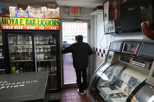"Moya E. Bar-Liquors, in Paterson, is the site of the infamous 1966 shooting that put famed boxer, Rubin ""Hurricane"" Carter, in jail for approximately 20  years.  Moya says customers talk about the shooting often. Wednesday, January 9,  2019"