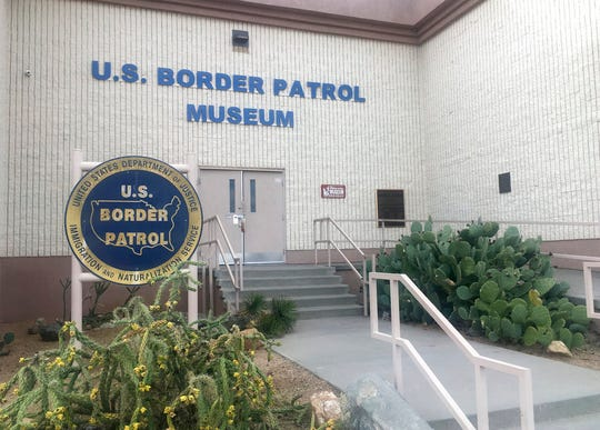 In this Nov. 29, 2018 photo, is the entrance of the U.S. Border Patrol Museum in El Paso. The U.S. Border Patrol Museum explores the story from the agency's formation to fight Chinese immigration and Prohibition, to its role amid massive migration and cartel drug smuggling.