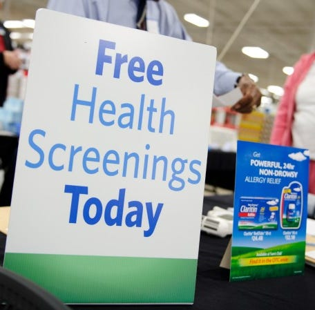 Saturday free health screenings at Las Cruces Sam's Club not just for members