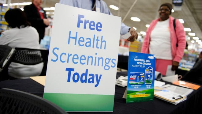 Sam's Club locations with pharmacies, including Las Cruces, will hold free screenings for members and non-members on Saturday, Jan. 12.