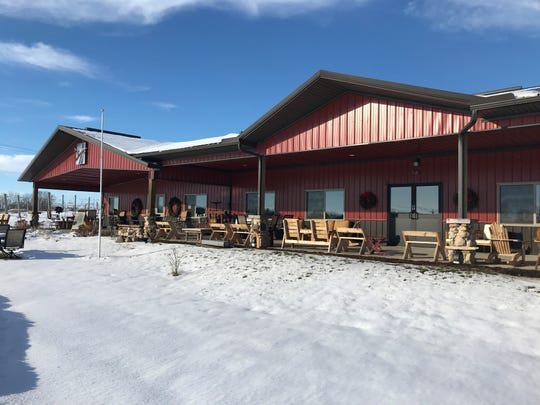 Rushes & Vines Winery at 410 County Road E in Ripon opened to the public 6 years ago.