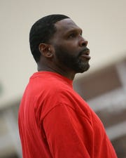 Indio head coach Ivery Thompson led the Rajahs to the team's first league title in 17 years.