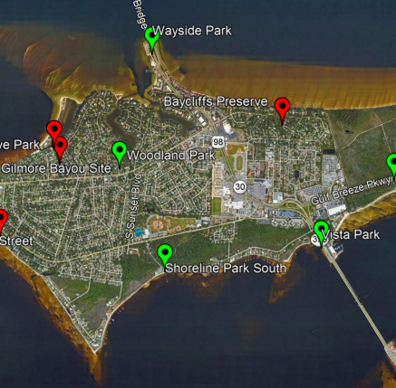 Gulf Breeze seeks input on blueways plan, a water highway for paddlers, kayakers