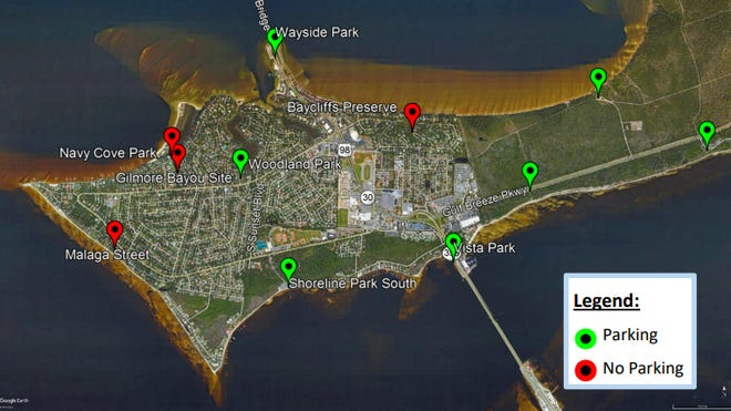 """Gulf Breeze plans to add several launches for kayakers and paddlers to create a """"blueway,"""" essentially a water highway for travelers who want to get around the city of Gulf Breeze via the water."""