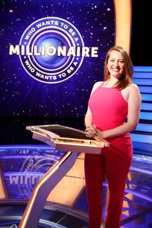 """Pensacola's Brooke Fleming will appear on an episode of """"Who Wants to Be a Millionaire?"""" that airs Thursday."""