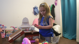 Lola Nathanson, 4, was born with cystic fibrosis. This year, Lola and her family will be going to Disney thanks to the Make-A-Wish Foundation.