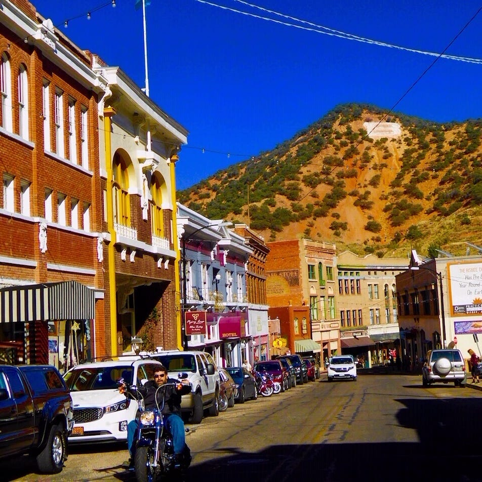 The copper mines may have closed but Bisbee is still filled with artistic and architectural treasures.