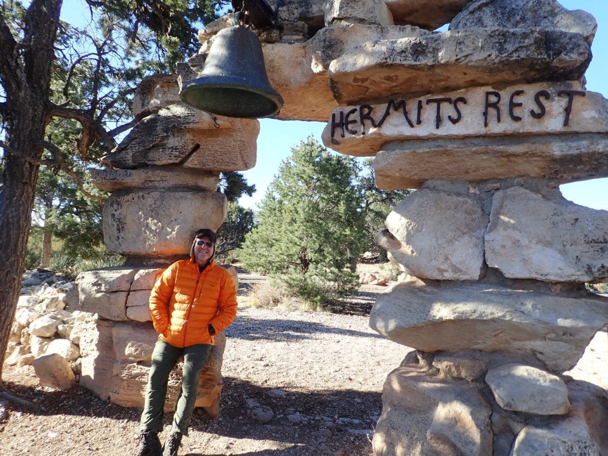 Darryl Toupkin at the Grand Canyon. Some longtime residents and even Arizona natives have never been to the Grand Canyon or Saguaro National Park.